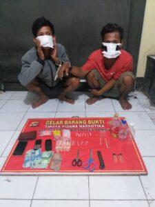 Satresnarkoba Polres Dompu, terus bekerja keras dalam mengungkap peredaran Narkotika di wilayah Kabupaten Dompu. Mulai dari menggagalkan peredaran Narkotika, bahkan menangkap para pelaku yang terlibat dalam barang haram tersebut.