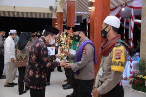 Polres Lombok Barat Keluar Sebagai Juara Lomba Da'i Kamtibmas Tingkat Polda NTB