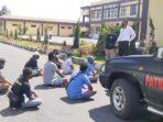 Polisi Amankan 10 Orang Calo Tiket Penyebrangan dan Snorkling 3 Gili di Lombok Utara