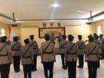 Kapolres Bima Kota Pimpin Sertijab Perwira Jajaran Polres
