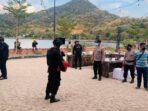 Kapolres Bima Kota Pimpin Pengamanan Kunjungan Menteri Pariwisata dan Ekonomi Kreatif ke Bima Kota