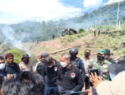 Ngeri !! Polri Musnahkan 7 Hektar Lahan Ganja