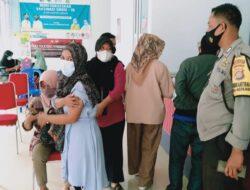 Sukses, Vaksinasi di Labuapi Capai 100 persen dari Jumlah yang Mendaftar