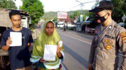 Polsek Sekotong Pantau terus Disiplin Prokes di Wilayahnya