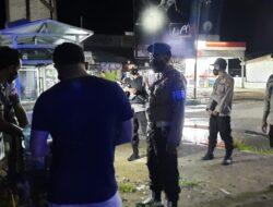 Prioritaskan Prokes, Polsek Sekotong Ingatkan Masyarakat dalam Kegiatan Patroli