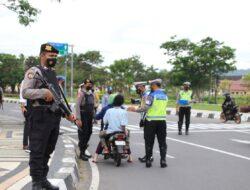 Operasi patuh Rinjani 2021 di Lombok Barat, Sasar Disiplin Berlalulintas dan Penerapan Prokes