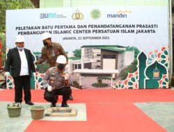 Hadiri Peletakan Batu Pertama Islamic Center Persatuan Islam, Kapolri Yakin Hasilkan SDM Berkualitas